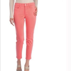 NYDJ coral pink  ankle jeans lift tuck sz …